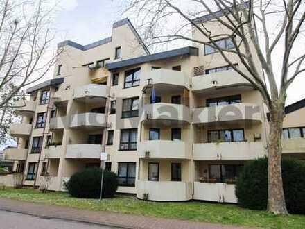 Unkomplizierte Kapitalanlage: Sicher vermietete 3-Zi.-Wohnung mit Balkon in zentrumsnaher Lage
