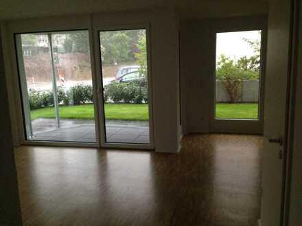 Exklusive, neuwertige 2-Zimmer-Erdgeschosswohnung mit Balkon und EBK in Leonberg