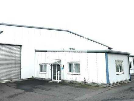 Produktionsgebäude mit Lagerfläche