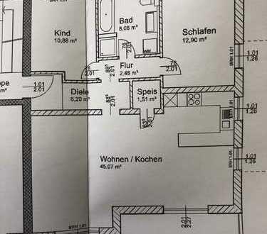 Erstbezug einer hellen 2,5 Zimmer Wohnung