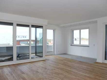 Neubau in Alsterdorf- Exklusives und stilvolles 4-Zimmer Penthouse und traumhafter SW-Dachterrasse