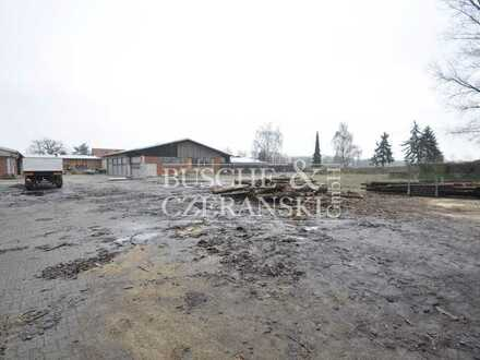 Warendorf    6.925 m² Freifläche teilbar ab 1.750 m²    Teilweise gepflastert    frei ab sofort