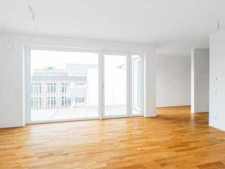 4-Zimmer-Penthouse: offene Wohnbereiche, exklusives Ambiente