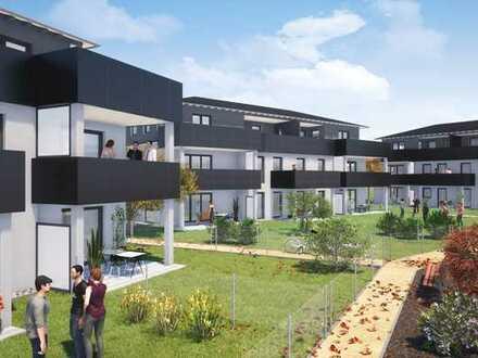 2-Zimmer Wohnung mit Dachterrasse in Schwabmünchen Erstbezug