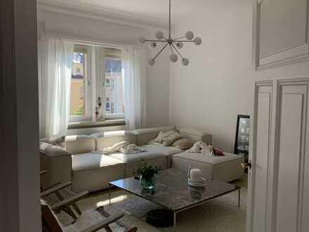 Größzügige, sanierte 4 Zimmer-Wohnung mit Balkon im Zentrum von Mühlacker