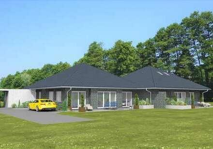 Neubau! Bungalow mit Carport in Siedlungslage von Wardenburg