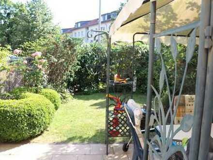 Reiheneckhaus mit Garten in Hanau