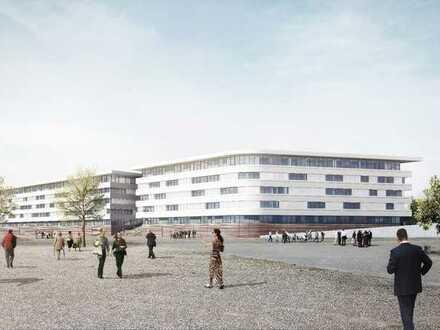 Zur Vermietung: Neubau-Büroflächen an der Neuen Messe, Kopfbau 2