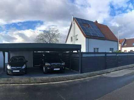 Sanierte, kleine Doppelhaushälfte mit drei Zimmern in Beindersheim