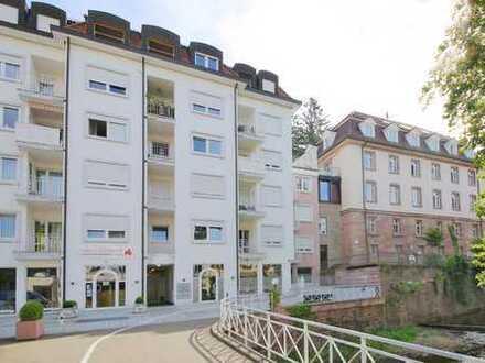Bestlage in Baden-Baden! Gepflegte 2-Zimmer-Wohnung mit Balkon