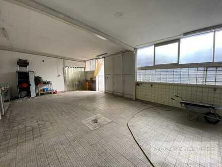 240 m² große Lagerhalle mit Kühllager, Büro, WC und 3 Stellplätzen