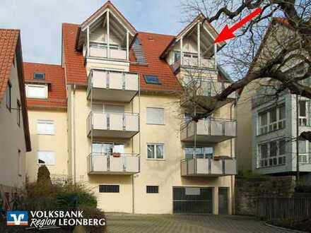 * Ideal für Kapitalanleger: Helle 2½ Zimmer-Wohnung mit Balkon in Höfingen! *