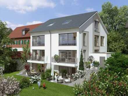 Neubau, 1 Einfamilienhaushälfte in Top Lage, ruhig mit großem Garten, Garage, unverbaubarem Blick.