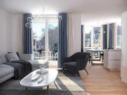 4,5-Zimmer-Südwohnung mit Terrasse