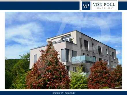 Wohnen am Schloßpark - Sonnige Penthousewohnung im Rückgebäude