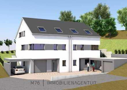 ++ NEUBAU - Exklusive Doppelhaushälfte | 148 m² | Garten | Terrasse | Garage | Massivbau ++