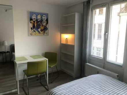 Gemütliche, vollständig renovierte 1-Zimmer-Wohnung in Karlsruhe