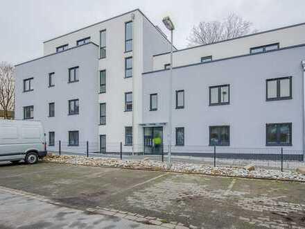 Erstbezug einer schönen 4-Zimmer-Erdgeschosswohnung mit überdachter Terrasse