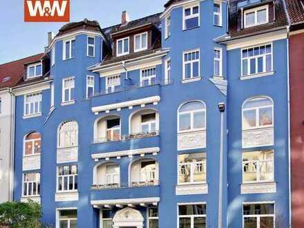 2 Eingänge + 1 Homeoffice = 1 perfekte Dachwohnung in der List