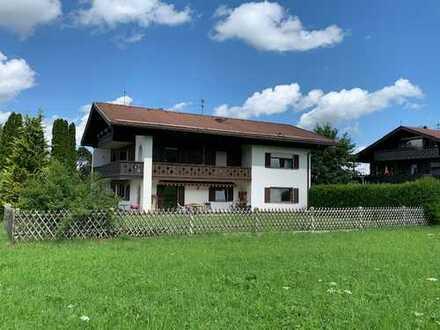 RESERVIERT, Ohlstadt, tolle Lage, 4-Zimmer, großer Garten und Terrasse, Garage, 32 m² Hobbyraum