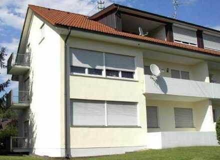 Gepflegte DG-Wohnung mit drei Zimmern und Balkon in Wehr