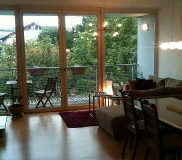 Gepflegte 3,5-Zimmer-Maisonette-Wohnung mit Balkon und EBK in Bensheim