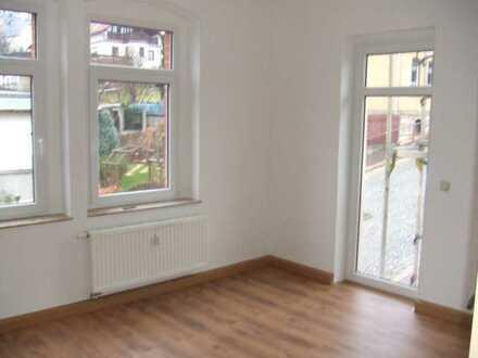 2-Raum-Wohnung mit Einbauküche und Balkon in Triebes