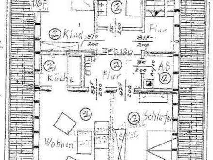 Ruhige 3,5 ZKB DG ETW, ausg. Speicher u. Balkon. Auch für Kapitalanleger. Wohn- u. Nutzfl. 119,32 m²