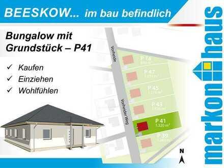 Beeskow - Bungalow mit Grundstück P41
