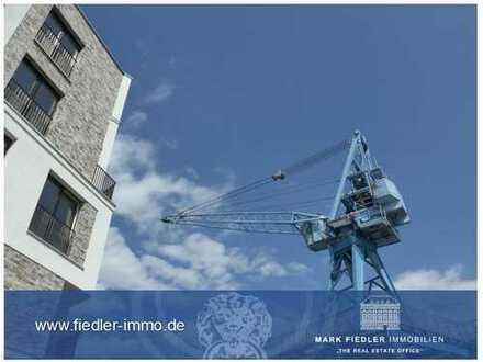 Offenbach/Hafeninsel, 4-Zimmer-Wohnetage mit Blick auf das Hafenbecken!