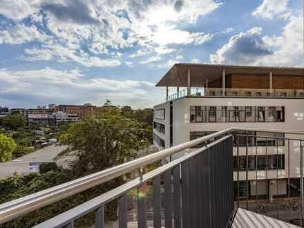 Ab August: Einbauküche | Vollbad | Balkon | Parkett | ruhige Lage
