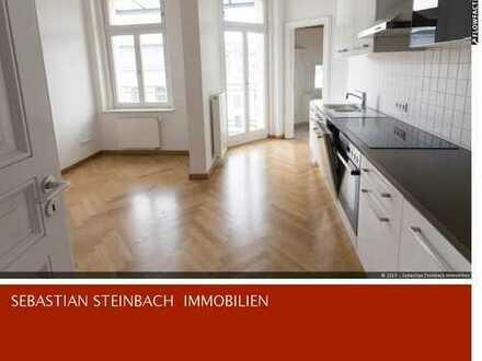 **Traumhafte Wohnung im Waldstraßenviertel + Stellplatz + EBK - Parkett - Balkone + EBK + Aufzug**