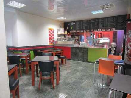 Imbiss / Gastronomieladen in 1A-Lage im Aalener Reichsstädter Markt zu verkaufen