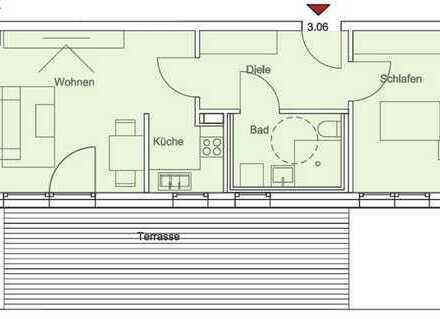 Premium-Wohnen für Senioren: Exklusive 2-Zimmer Penthouse-Wohnung