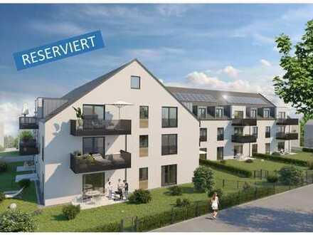 RESERVIERT - WE18 - gemütliche 3-Zimmer-Wohnung im Dachgeschoss mit großem Balkon