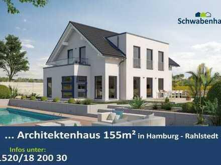 Wohnen in bestlage mit einem Architektenhaus in Hamburg-Meiendorf auch ohne Eigenkapital