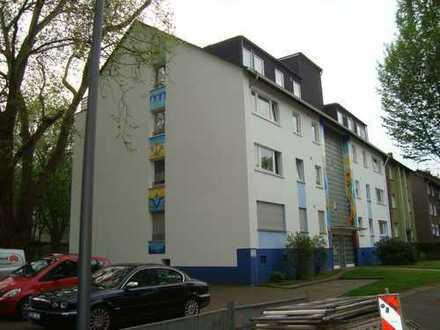 Frisch renov. Wohnung mit Blick ins Grüne, 2 Zimmer, Küche, Diele und Bad und Südbalkon in Bochum