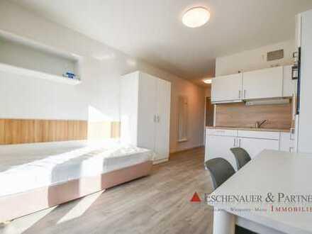 NEUBAU ERSTBEZUG - Möbliertes Apartment mit vielen Extras im luxuriösen Studentenwohnheim.