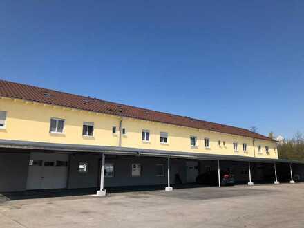 Werkstatt-Lager-Produktionsräume in verkehrsgünst. Lage v. RV m. Freiflächen, teilbar nach Bedarf.