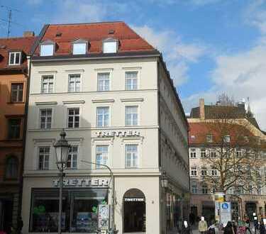 CHARMANTE 2 Zi. Altbau-Whg. im Zentrum/Altstadt * Nähe Marienplatz/ am Rindermarkt !!