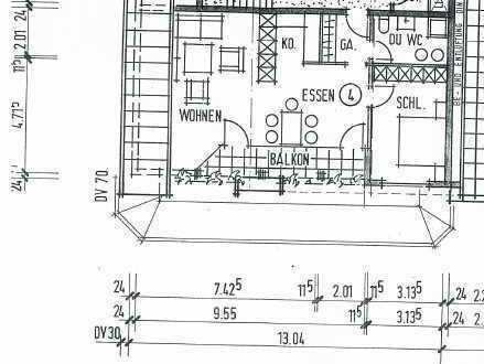 3 Zi. Dachwohnung in Aichhalden zu vermieten
