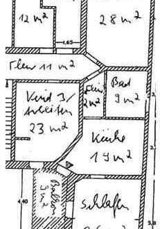 Familienwohnung mit Kamin, Balkon und diversen Extras!