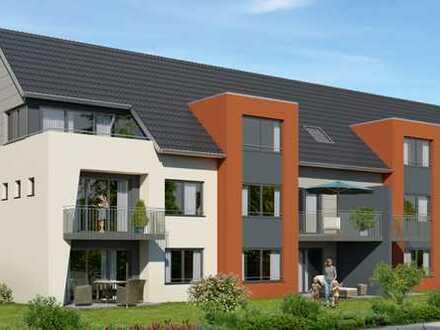 Neubau: Moderne 3 Zimmer-Wohnung mit Balkon