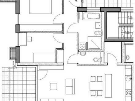 Neuwertige 3-Zimmer-Erdgeschosswohnung mit Terrasse und EBK in Ulm-Wiblingen