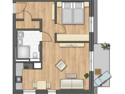 Dachwohnung mit Balkon in süd-west Ausrichtung (1.12)