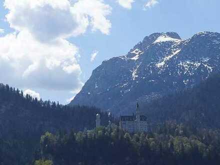 Exklusive Penthouse mit großer Terrasse! Mit Berg-und Schlossblick auf Neuschwanstein