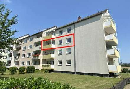 Innenstadtnahe Eigentumswohnung mit Blick aufs Feld in Wolfenbüttel - Sonnige 4 Zimmer und Garage!