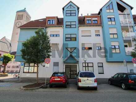 Sicher vermietete 2-Zi.-ETW in zentraler Lage von Hockenheim