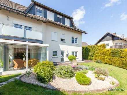 Helle, modern gestaltete Eigentumswohnung mit Garten! 3 Zimmer plus Wintergarten. In Wenden.