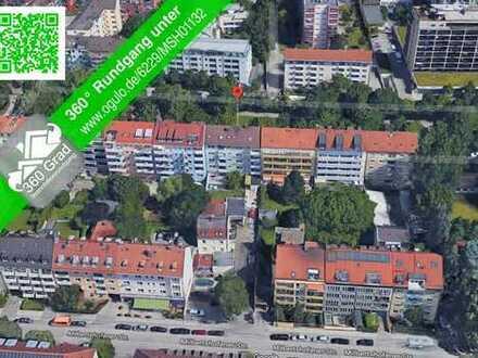 1-Zimmer-DG-Wohnung Schwabing Nord, Nähe BMW mit EBK